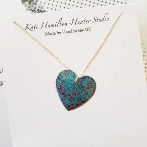 round heart necklace2